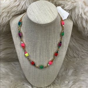 Colorful bright & fun Kate Spade necklace